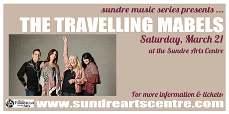 The Travelling Mabels at the Sundre Arts Centre tickets