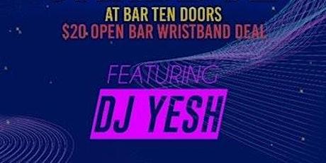 Thirsty Thursday @ The Bar 10 Doors - 2hr Open Bar tickets