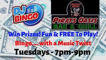 Play DJ Bingo FREE In Weirsdale - Pirats Oasis