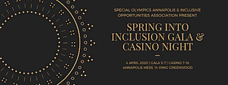 Spring into Inclusion Gala/Casino Night tickets