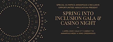 Spring into Inclusion Gala/Casino Night