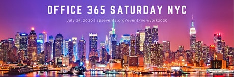 Office 365 Saturday NYC 2020 tickets