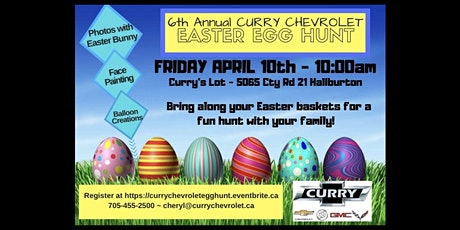 Curry Chevrolet 6th Annual Family Easter Egg Hunt tickets