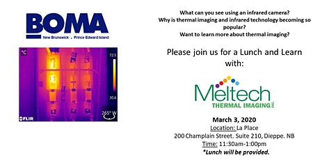 Lunch and Learn with Meltech Thermal Imaging tickets