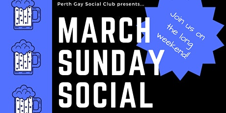 PGSC Sunday Social - March Long Weekend tickets