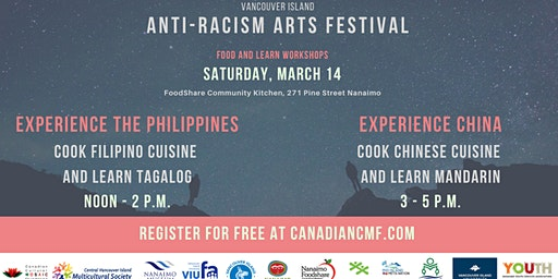 Cook Chinese Cuisine and Learn Mandarin - Anti-Racism Arts Festival