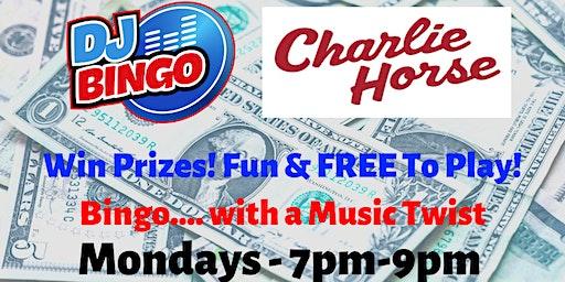 Play DJ Bingo FREE In Ocala - Charlie Horse