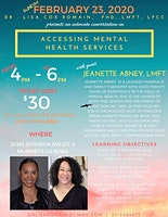 Accessing Mental Health Services