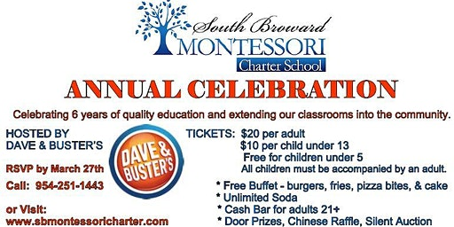 South Broward Montessori Charter School Annual Celebration