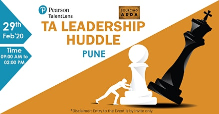 TA Leadership Huddle tickets