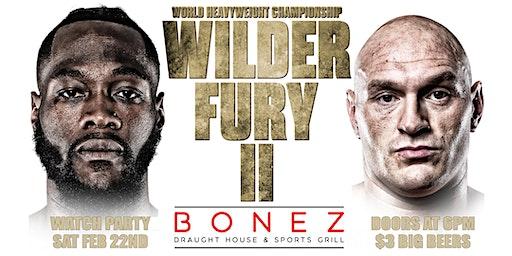 Wilder vs Fury II