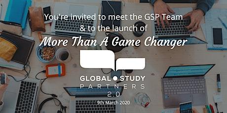 Meet the GSP Team & GSP 2.0 Launch tickets