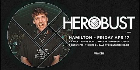 HEROBUST (USA) at Back Bar tickets