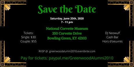 Greenwood 2010 Alumni 10-Year Reunion: Welcome to the 20's! tickets