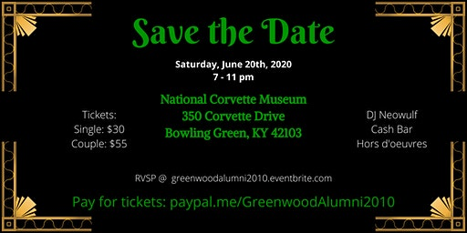 Greenwood 2010 Alumni 10-Year Reunion: Welcome to the 20's!