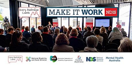 NDIS Make it Work Forum - Wollongong tickets