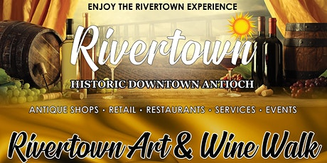 Rivertown Art and Wine Walk Early Bird Pricing till April 1st! tickets