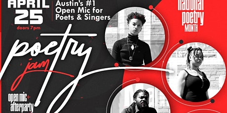 Poetry Jam   4.25 tickets