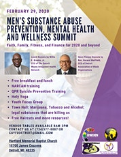 Men's Substance Abuse Prevention, Mental Health and Wellness Summit tickets