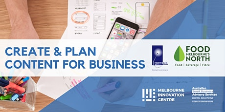 [ONLINE WORKSHOP via Zoom]: Content Creation: How To Create and Plan Content for your Business - Bundoora tickets