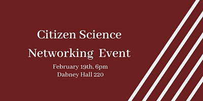 Citizen Science Club at NC State Networking Event