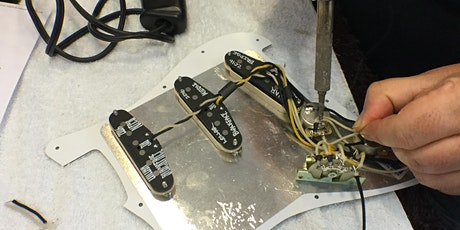 Guitar Electronics Upgrade & Repair Workshop with SF Guitarworks, 2-nights tickets