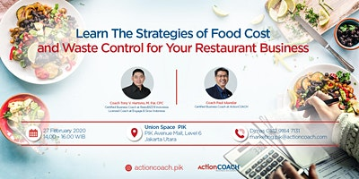 {PAID EVENT} Learn The Strategies of Food Cost and Waste Control