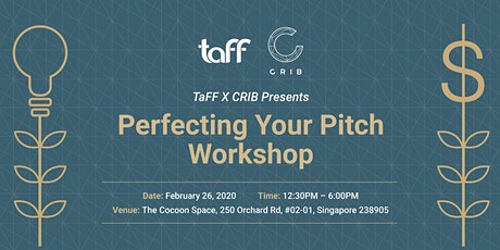 Perfecting Your Pitch Workshop tickets