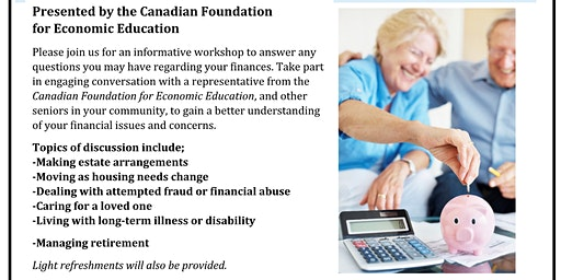 Free Financial Literacy Workshop for Seniors
