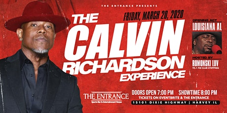 The Entrance Presents The Calvin Richardson Experience tickets