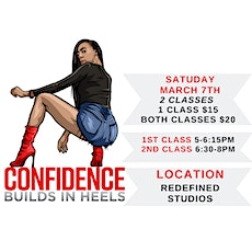 Confidence Builds In Heels Cincinnati (MARCH 07th Class) tickets