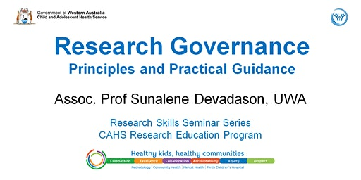 Research Skills Seminar: Research Governance - 21 February