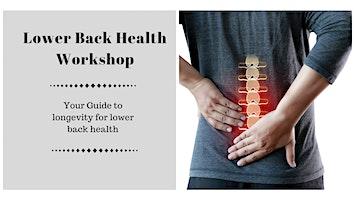 Lower Back Health Workshop