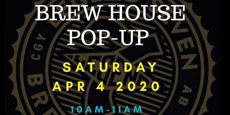 BREW HOUSE Pop-Up SIP + STRETCH @ Legend 7 Brewing tickets