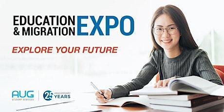 AUG Melbourne Education & Migration EXPO 2020 tickets