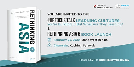 HR Focus Talk - Learning Cultures & Book Launch