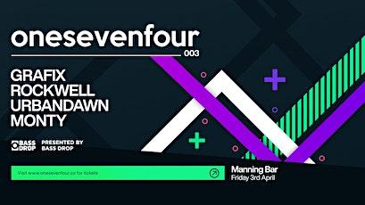 Bass Drop presents: onesevenfour 003 - Sydney tickets