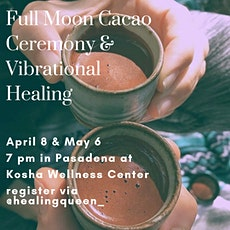 Full Moon Cacao Ceremony in May tickets