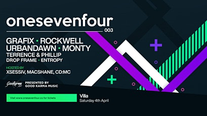 GKM / onesevenfour 003 - Perth tickets