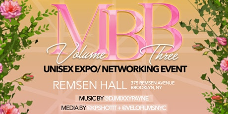MBB Vol.3 Unisex Expo / Networking Event tickets