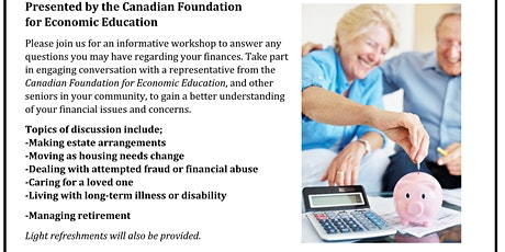 Free Financial Literacy Workshop for Seniors tickets