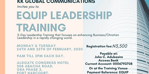Equip Leadership Training
