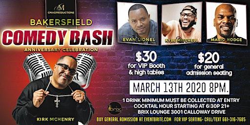 Bakersfield Comedy Bash Anniversary Celebration