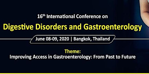 16th International Conference on Digestive Disorders and Gastroenterology