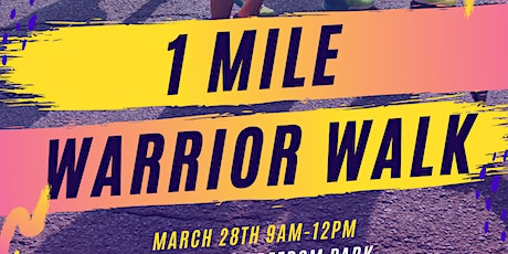 Healthy Families Festival: 1 Mile Warrior Walk - Fight to End Blood Cancer tickets