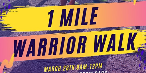 Healthy Families Festival: 1 Mile Warrior Walk - Fight to End Blood Cancer