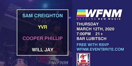 SAM CREIGHTON / YVR / COOPER PHILLIP / WILL JAY tickets