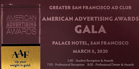 American Advertising Awards Professional Gala tickets