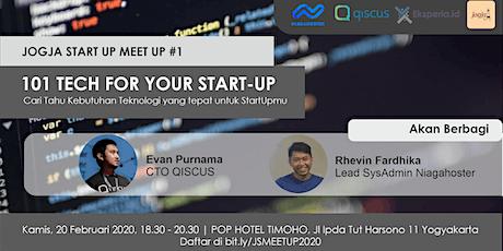 Jogja Start Up Meet Up: 101 Tech for Your Start-Up tickets