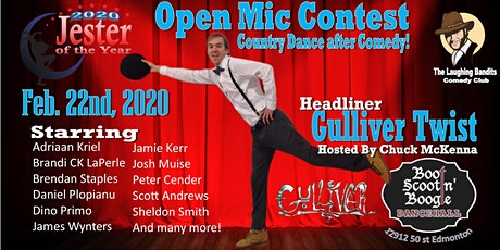 The Laughing Bandits Comedy Show with Headliner Gulliver Twist tickets